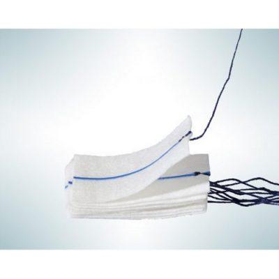 Неврохирургични тампони с рентгенопозитивна нишка SAUGERMED Pure Cotton